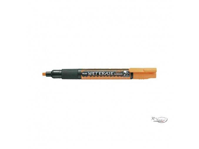 Popisovač křídový Pentel - oranžový