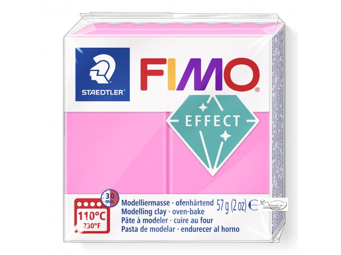 FIMO NEON  EFFECT  - 201 Neon růžová