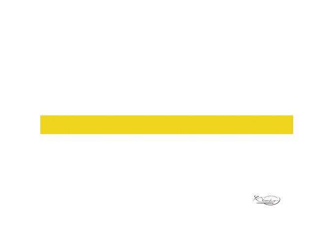Hedvábný papír 50x70 cm 18g - žlutý