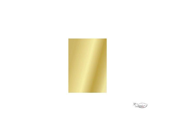 Hedvábný papír 50x70 cm 18g - zlatý, jednostranný