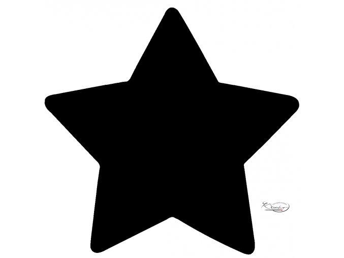 Děrovač červený 15mm - hvězda