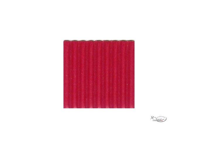 Karton 50x70 cm 300g vlnitý  červený