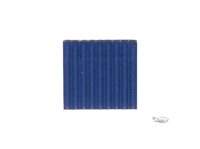 Karton 50x70 cm 300g vlnitý  modrý