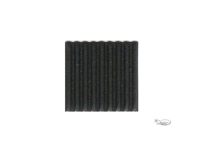 Karton 50x70 cm 300g vlnitý  černý