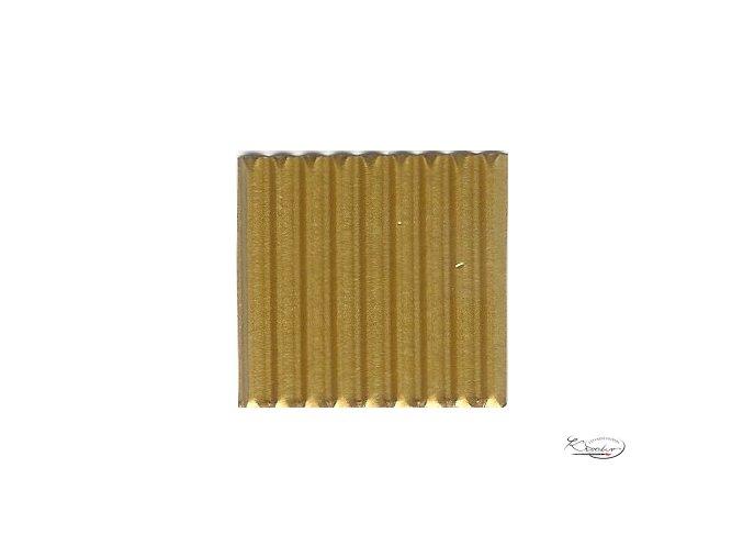 Karton 50x70 cm 300g vlnitý  zlatý
