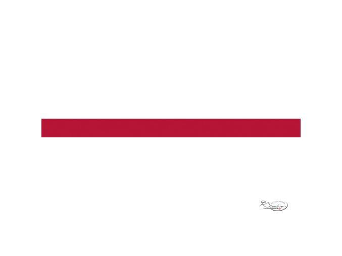 Pěnová guma 20x29 cm 2 mm červená