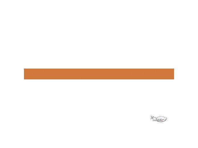 Pěnová guma 20x29 cm 2 mm oranžová