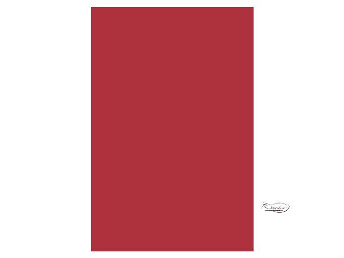 Filc 20x30 cm 150g 1mm - Červený