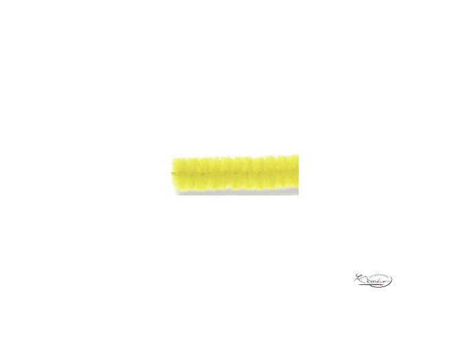 Žinilkový drát 10ks - Žlutý