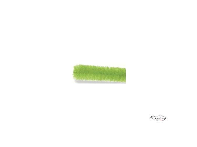Žinilkový drát 10ks - Světle zelený