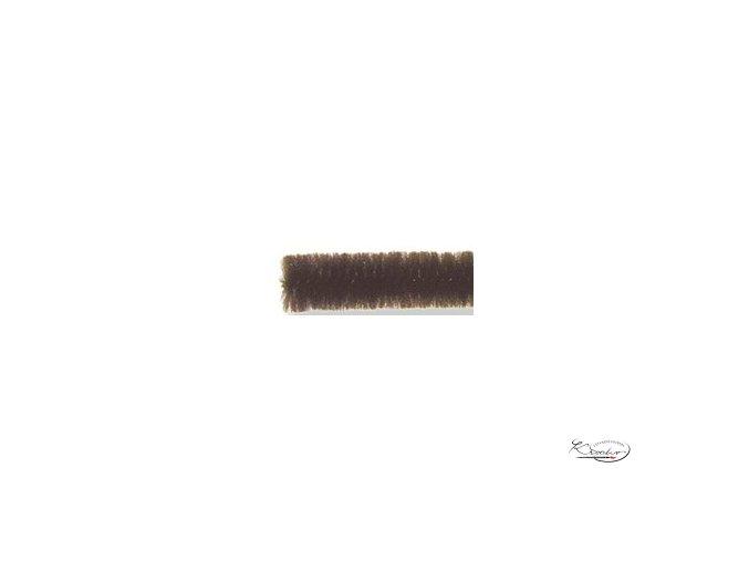 Žinilkový drát 10ks - Tmavě hnědý