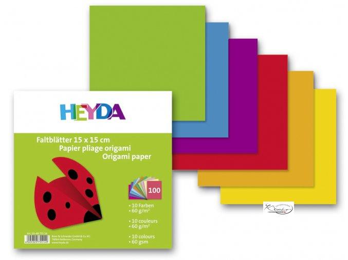 Origami 15x15 cm 60g 10 barev