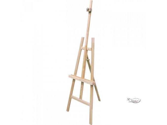 Dřevěný malířský stojan A - dubový