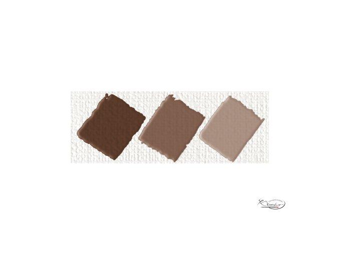 Hobby Acryl matt tmavě hnědá 59 ml