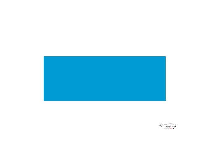 Hobby Acryl matt Neon modrá 59 ml