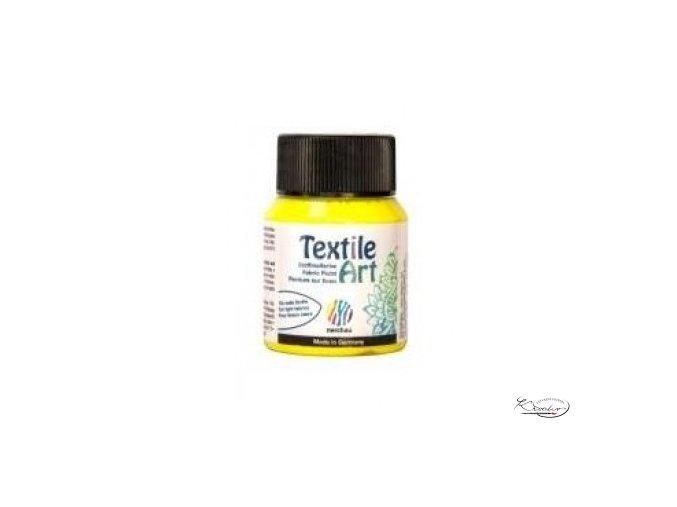 Textile Art 59 ml - 204 Žlutá citronová