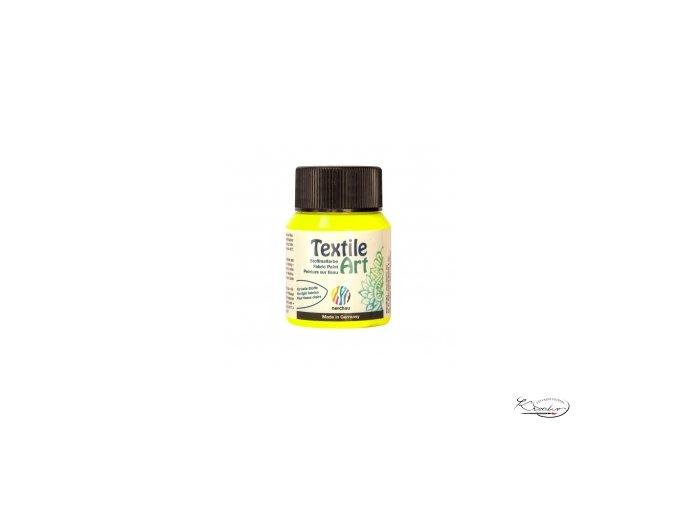Textile Art 59 ml - 808 Žlutá Neon