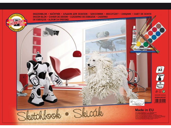 Skicák Sketchbook A3 KOH-I-NOOR
