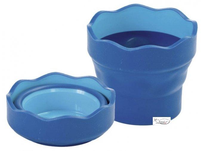 Kelímek na vodu CLIC&GO modrý