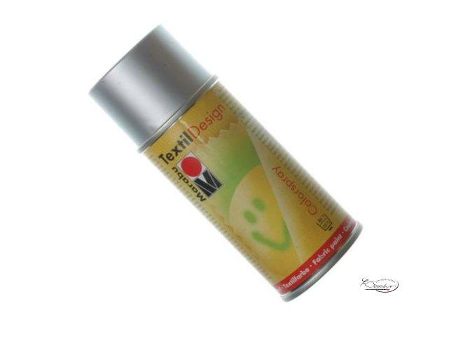 TextilDesign spray 082 stříbrný