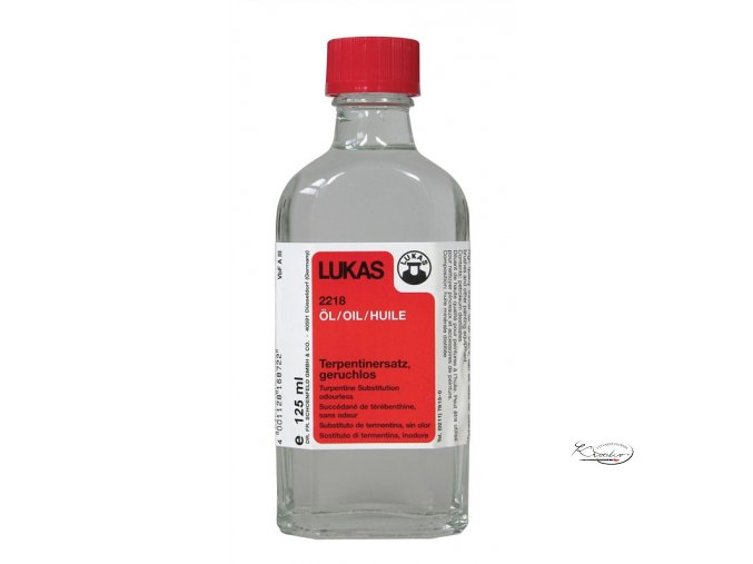 Ředidlo pro olejové barvy bez zápachu 125ml