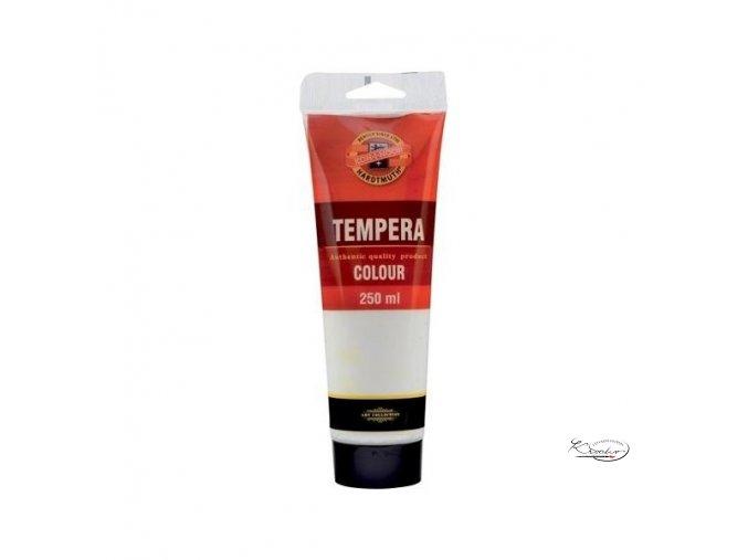 Tempera KIN 250 ml 1100 Běloba titanová