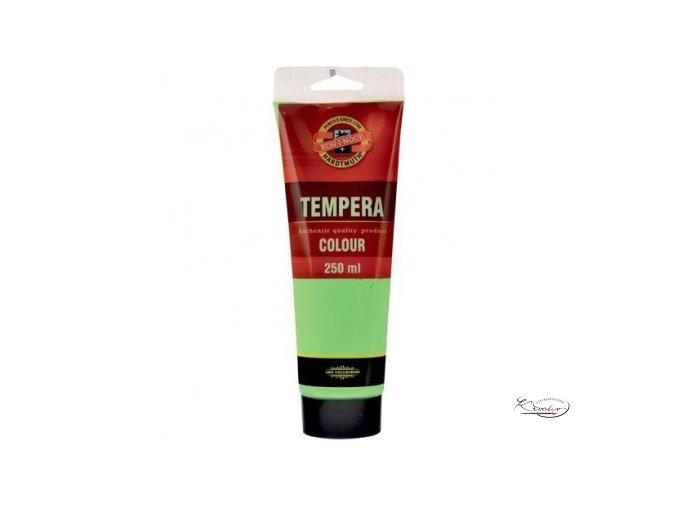 Tempera KIN 250 ml 1505 Permanentní zeleň světlá