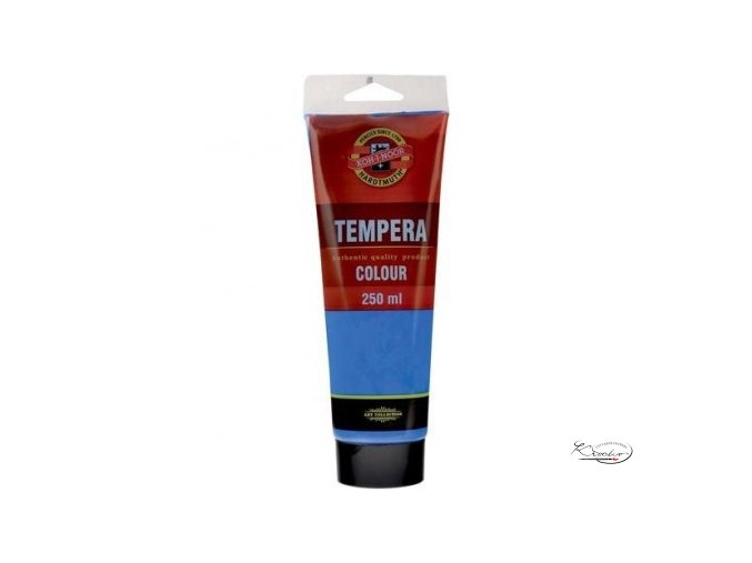 Tempera KIN 250 ml 1430 Kobalt imitace