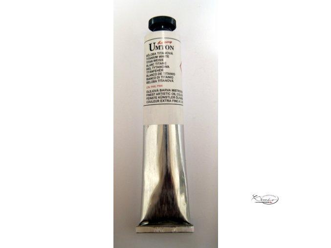 Olejová barva 0002 běloba titanová 150ml