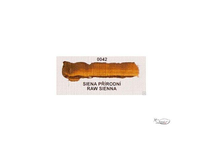 Olejová barva č. 0042 siena přírodní 20ml