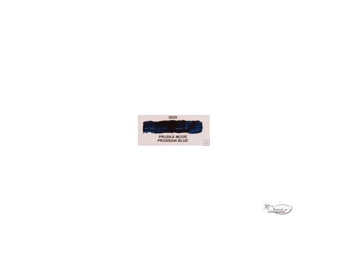 Olejová barva č. 0029 pruská modř 20ml