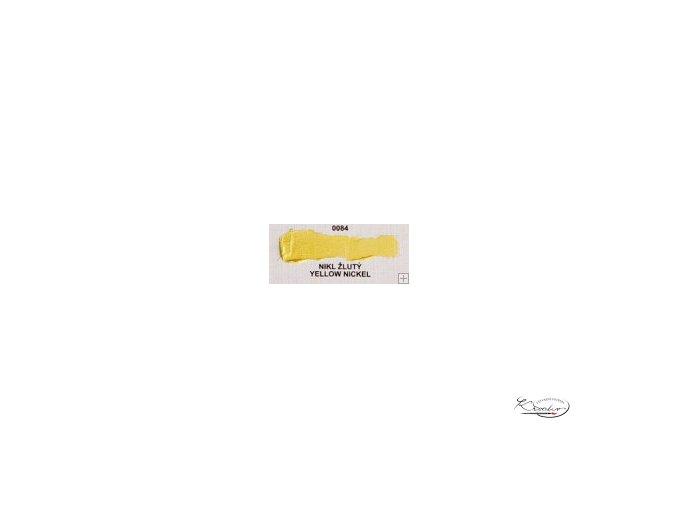 Olejová barva č. 0084 nikl žlutý 20ml
