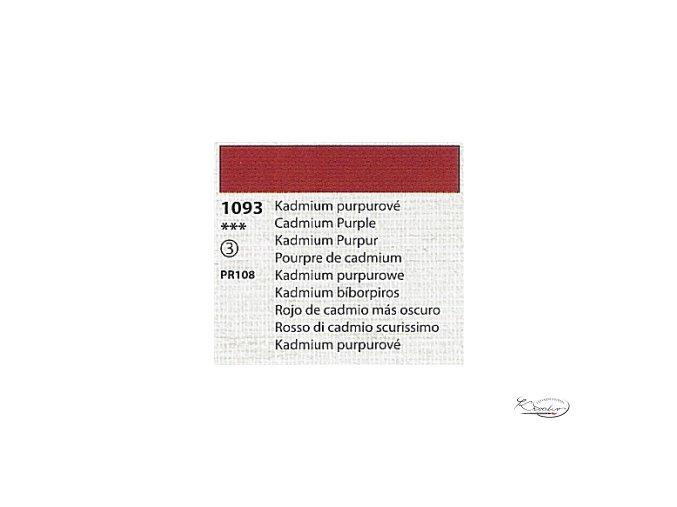 Tempera Umton 35 ml - 1093 Kadmium purpurové