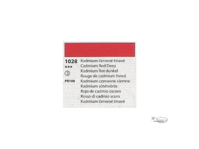 Tempera Umton 35 ml - 1028 Kadmium červené tmavé