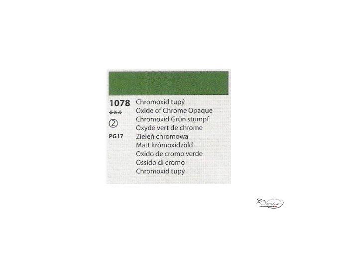 Tempera Umton 35 ml - 1078 Chromoxid tupý