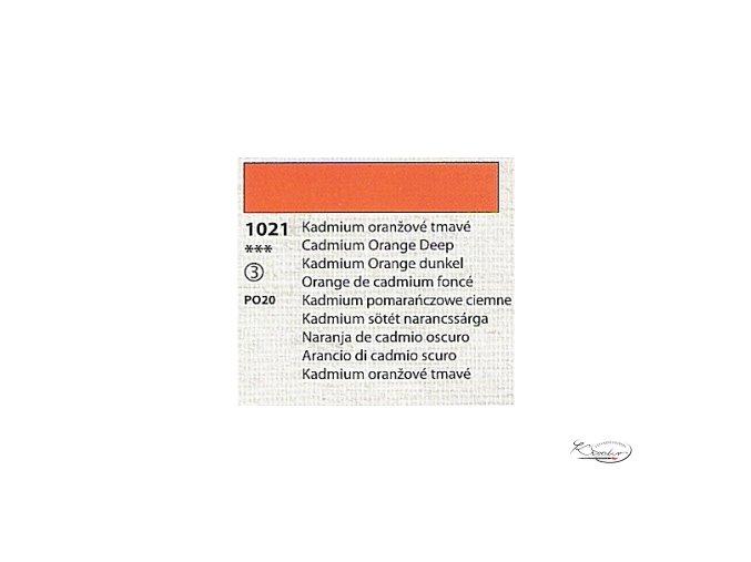 Tempera Umton 35 ml - 1021 Kadmium oranžové tmavé