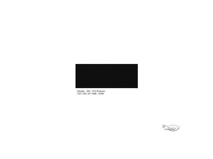 Silk Marabu  č. 073 Black barva na hedvábí 50ml