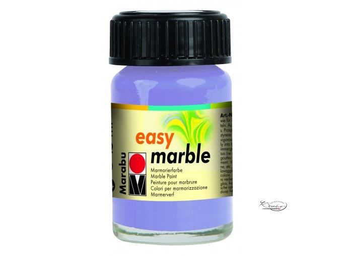 Mramorovací barva easy marble 15ml 007 levandulová