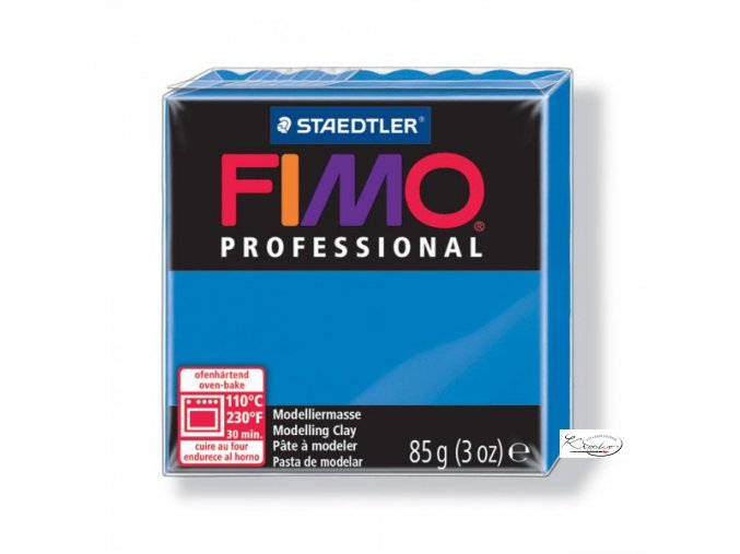 Fimo Professional 85g 300 Modrá jasná