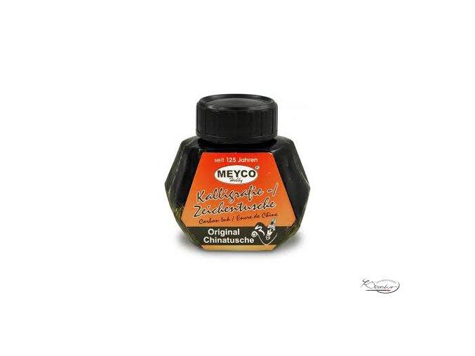 Kaligrafická tuš 40 ml černá