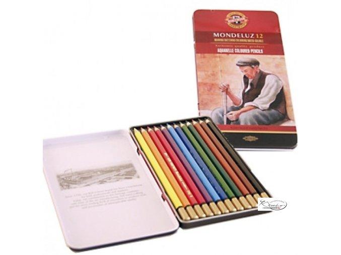 MONDELUZ souprava akvarelových pastelek 12