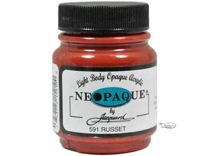 Neopaque Jacquard 67 ml - 591 Rezavá