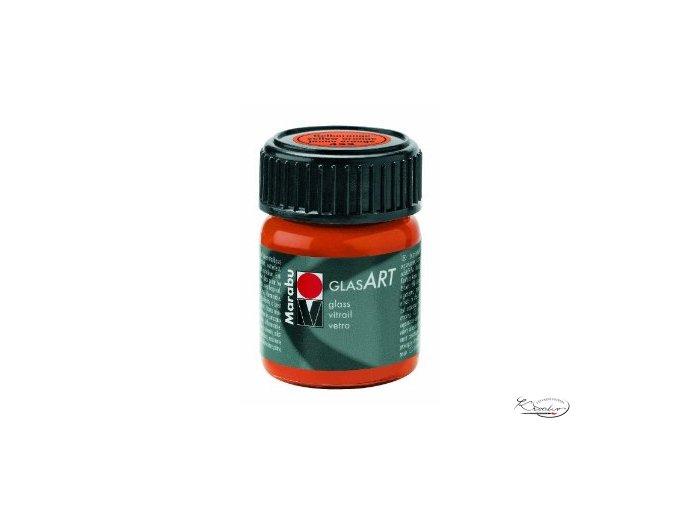 GlasArt Marabu 15 ml - 422 Oranžová