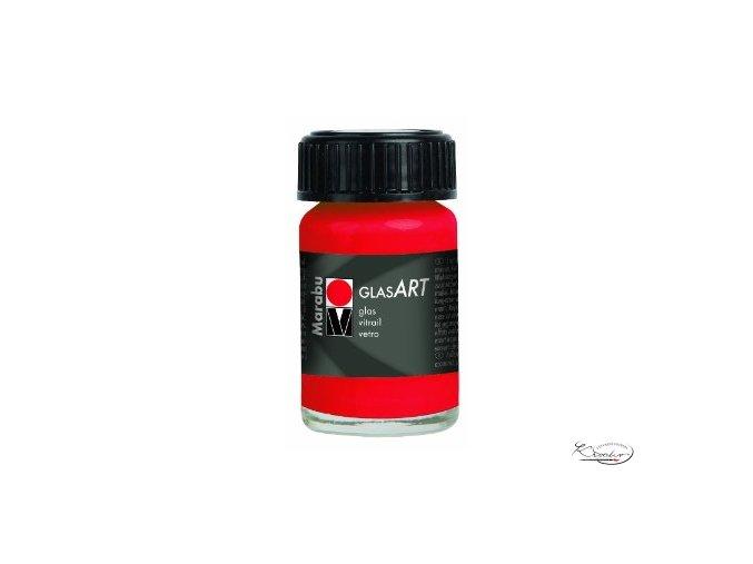 GlasArt Marabu 15 ml - 436 Červená rumělka