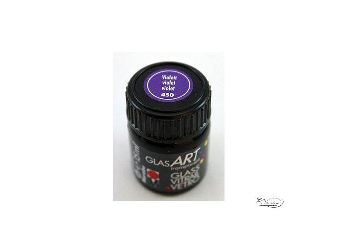 GlasArt Marabu 15 ml - 450 Fialová
