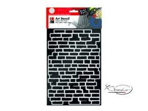 Art Stencil Marabu - Bricks