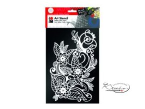 Art Stencil Marabu - Blooming Garden