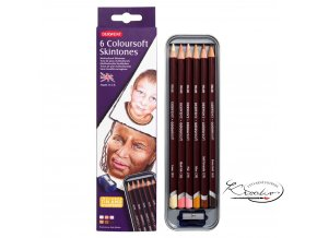 Derwent Colorsoft Skintones 6