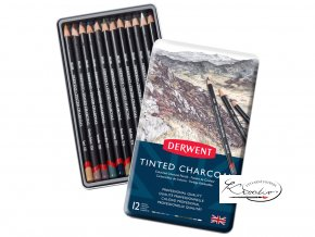 Derwent Tinted Charcoal 12
