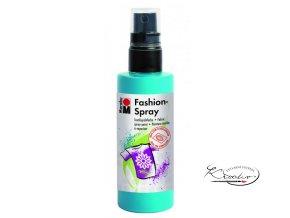 Fashion Spray Marabu 100 ml - 091 Karibská modrá